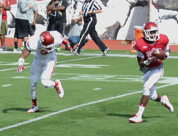 Rashard Fant will give Kevin Wilson lots of options on the field in 2014 (image source: IUsportscom)