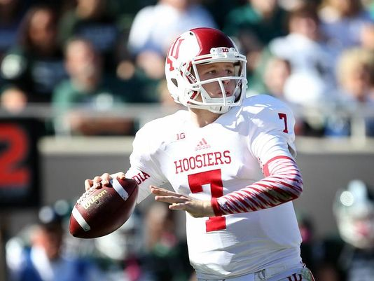 Nate Sudfeld is now the man for the Hoosiers offense. Will he be ready to take the team to the next level?