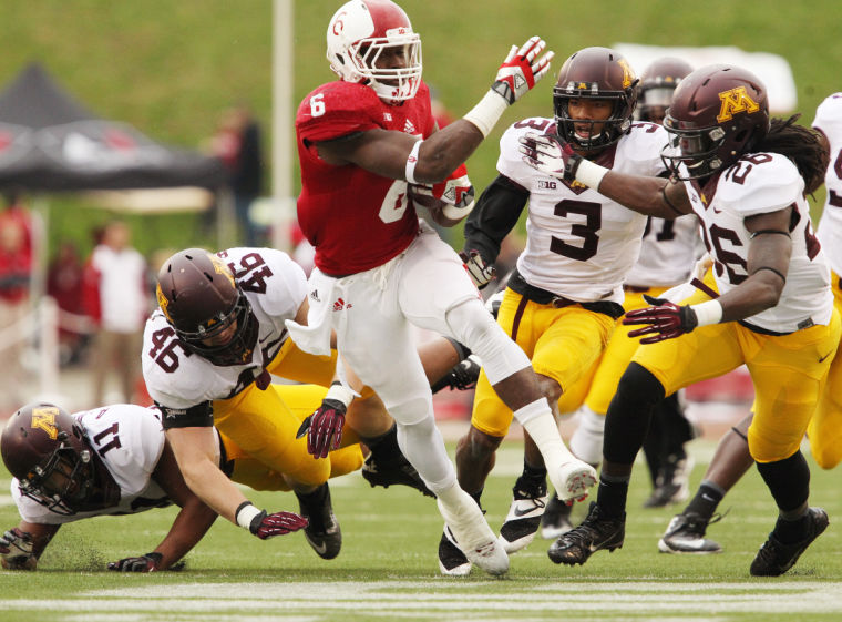 Tevin Coleman and the Hoosiers could over come an early hole to complete the comeback against the Gophers