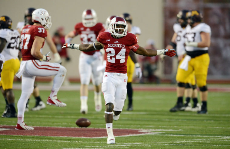 Tim Bennett will lead a veteran defensive back field in the quest to get the Hoosiers to a bowl game   Image Source: USAToday.com