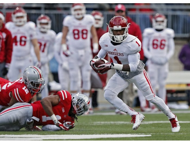 Shane Wynn will lead a talented but inexperienced Hoosier receiving corps.