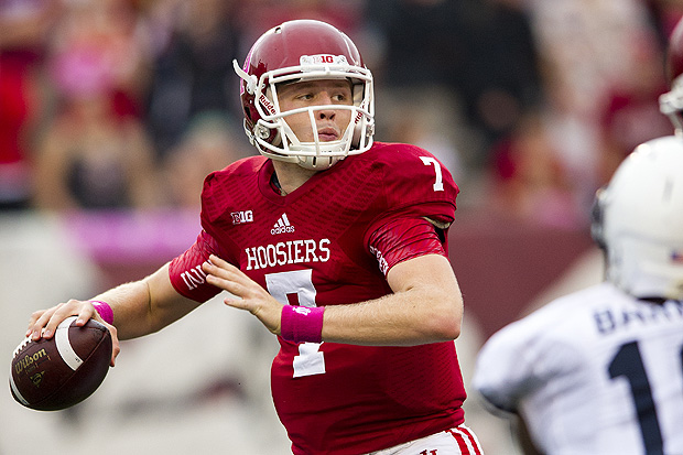 Nate Sudfeld will look to put up impressive numbers in 2014 now that he is the number one QB