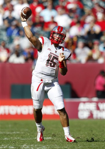 Rutgers hopes and dreams of a successful season in the Big Ten rest on the arm of Gary Nova