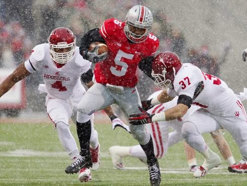 The Hoosiers and Buckeyes faced off in the snow last season. Can the Hoosiers score the upset in 2014?