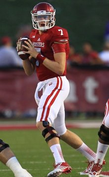 Nate Sudfeld leads the Hoosiers offense into 2014 as the full time starter.