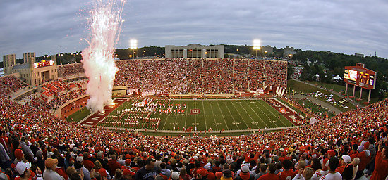 The Hoosiers are hoping that 52,929 fans clad in Crimson and Cream pack the Rock on Saturday