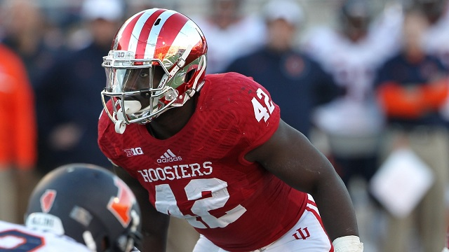 David Cooper leads an IU defense that looked much improved throughout fall camp.