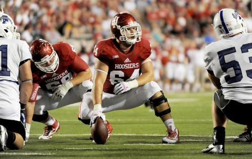 The Hoosier offensive line looks strong and the rest of the conference should be on alert.