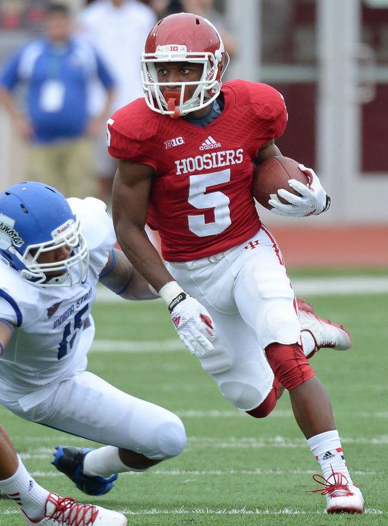 J-Shun Harris II, and 10 other true freshman, made their debut in Week 1  Image Source: TMNews.com