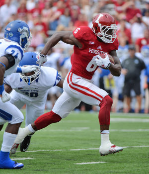 Tevin Coleman and the rest of the Hoosier running backs were great in the 28-10 win Saturday, but what needs to be improved for the Hoosiers to continue their success?  Image Source: HeraldTimes.com