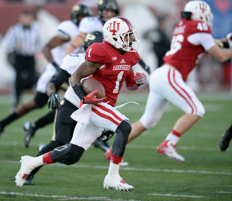 The Hoosiers need Shane Wynn and the rest of the receivers to have big days if they want to leave BGSU with a win