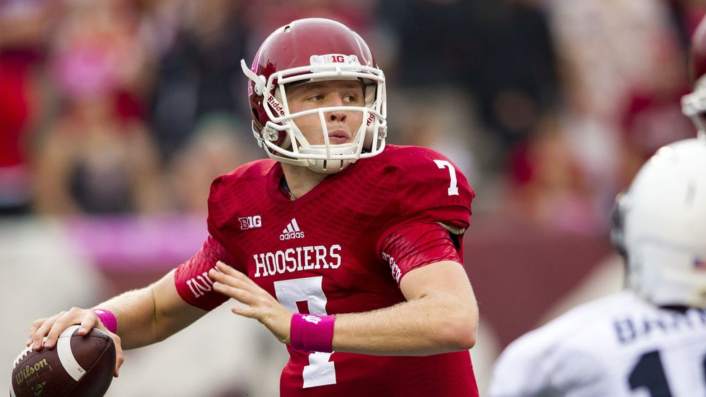 Nate Sudfeld and the Hoosiers  look to score the first road win against a ranked opponent since 2004.