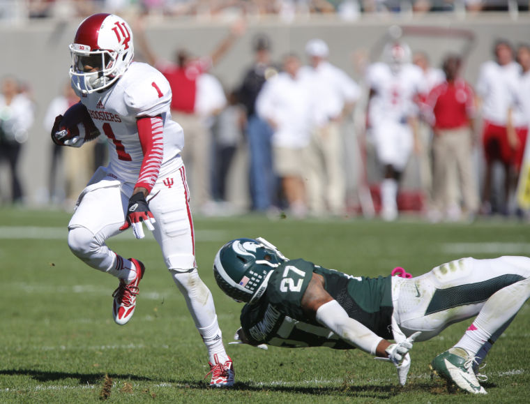 Shane Wynn looks to build on a strong performance against BGSU when the Hoosiers head to Missouri