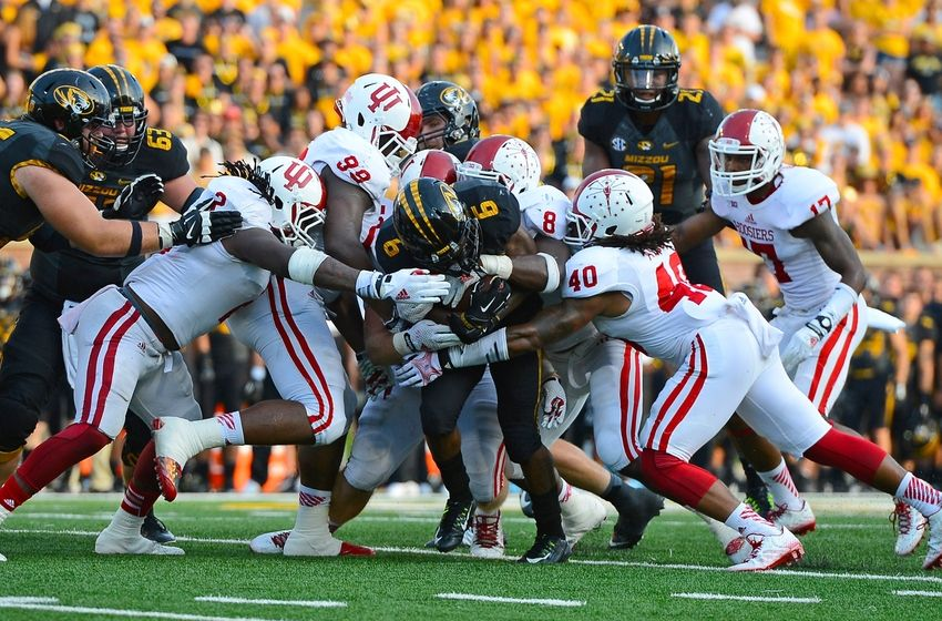 The Indiana defense played aggressively as they racked up 11 TFL's