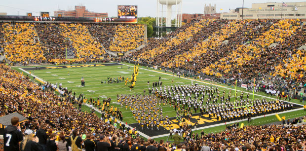 Kinnick Stadium is one of the best venues I have been to for college football