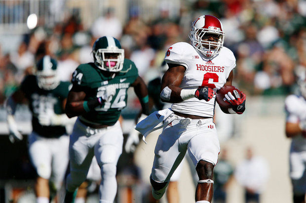 The Spartans will be geared up to stop Tevin Coleman. Can the Hoosier running back break loose?