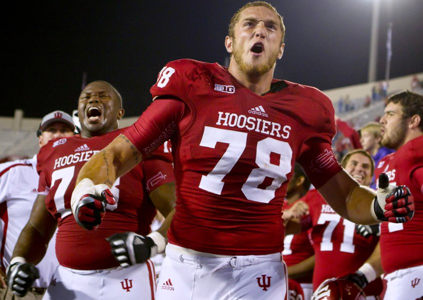 Jason Spriggs and Nick Mangieri are both likely to play on Saturday for Indiana