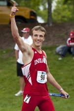 Nick Stoner was named an All-Big Ten runner in 2012