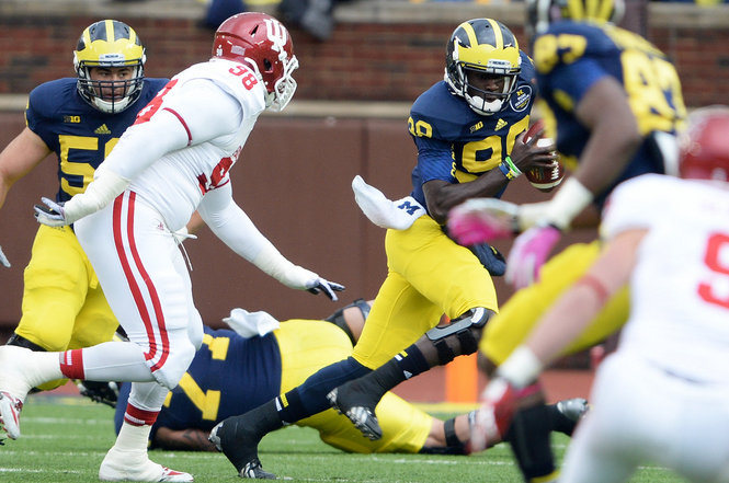 The Hoosiers had no answer on offense for Michigan in a 34-10 loss in Ann Arbor on Saturday