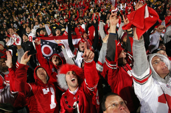 Will Buckeye fans have a third consecutive division title to celebrate Saturday night?