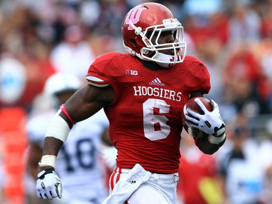 Tevin Coleman set the school rushing record with 2,036 yards in 2014. Can the Hoosiers replace him in 2015?  Image Source: USAToday Sports.