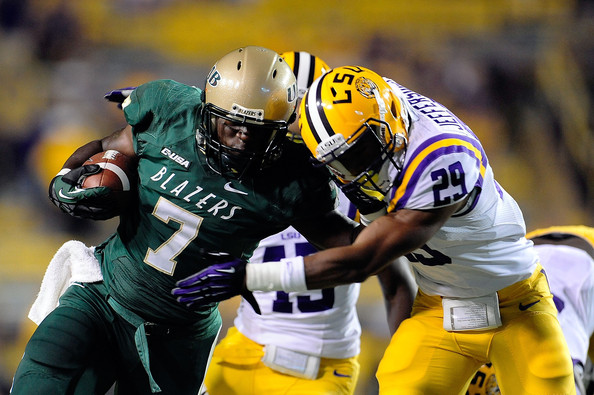 UAB transfer running back Jordan Howard will replace Tevin Coleman in the backfield