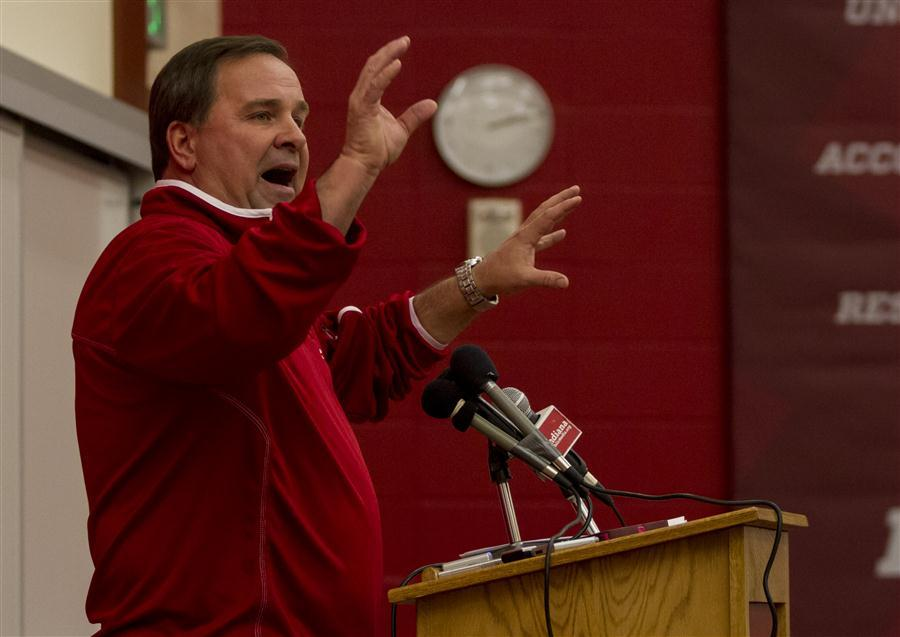 Indiana head coach Kevin Wilson is trying to put the pieces together for another great recruiting class at IU.