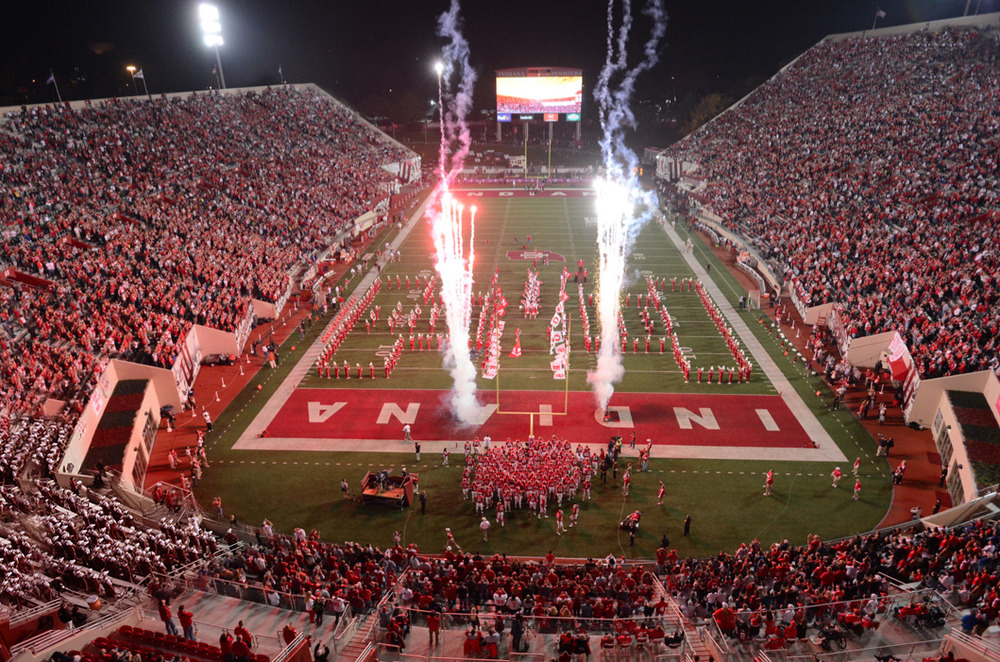 While there won't be the fireworks, Hoosier fans should be fired up about National Signing Day  Image Source: IUHoosiers.com