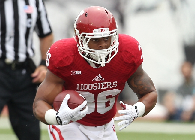Hoosier Running Back Myles Graham has transferred to Monmouth University to play football for the Hawks. Mandatory Credit: Pat Lovell - USA Today Sports