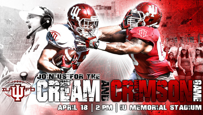 IU's spring schedule is set.  Image Source: IUHoosiers.com