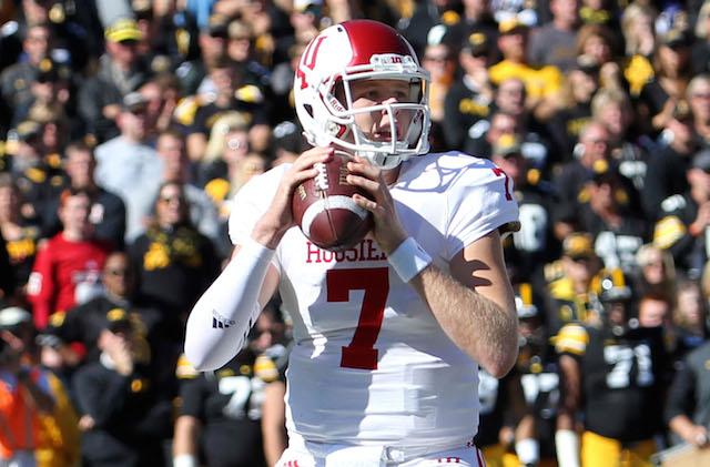 The Hoosiers need Nate Sudfeld to return the passing game back to the top of the Big Ten Image: CBS Sports