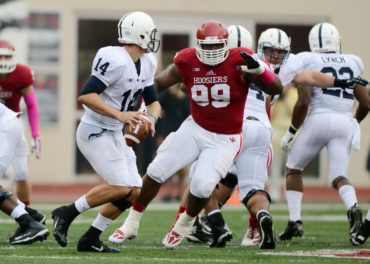 With 99 days until IU Football kicks off we profile number 99 Adarius Rayner  Image: HeraldTimesOnline.com