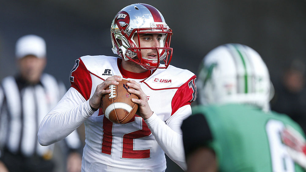 If the Hoosiers are going to slowdown the Western Kentucky passing attack, they'll have to get to quarterback Brandon Doughty early and often when he drops back to throw.