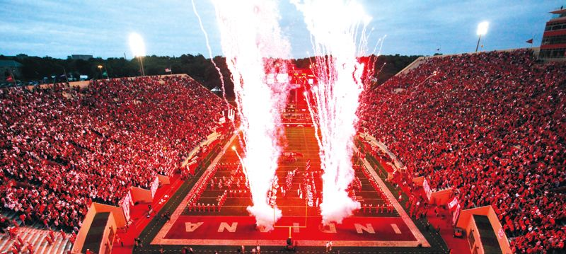 Fireworks are a staple on the Fourth of July as well as at Memorial Stadium in the fall.