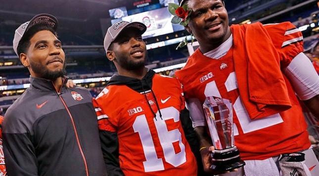 Any of these three would be the top QB that the Hoosiers face in 2015. Image: ColumbusDispatch.com
