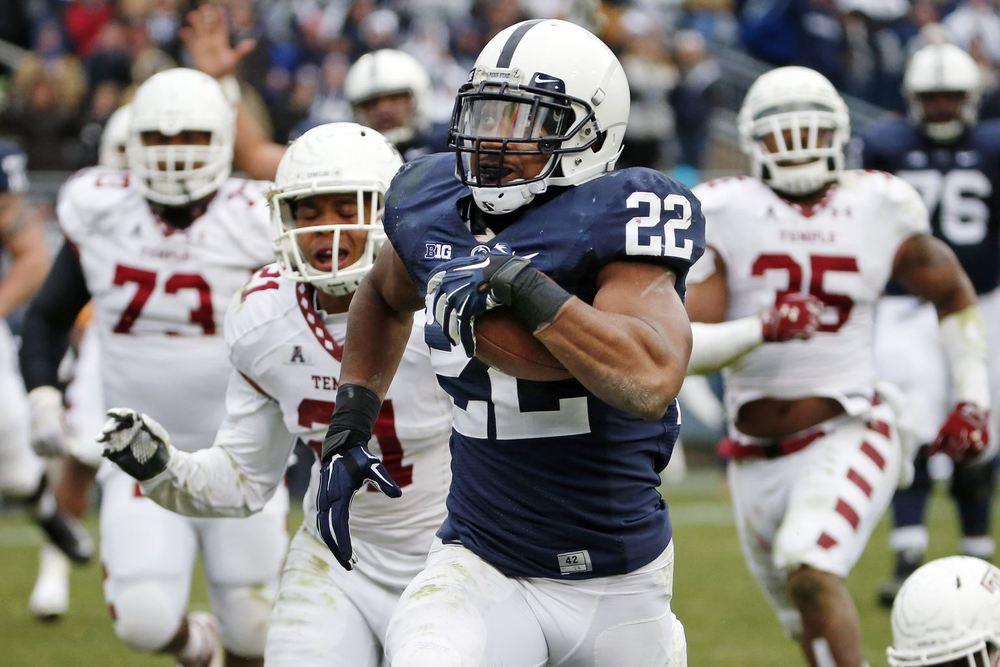 Akeel Lynch will be the main threat on the ground for Penn State  Image: Post-Gazette.com