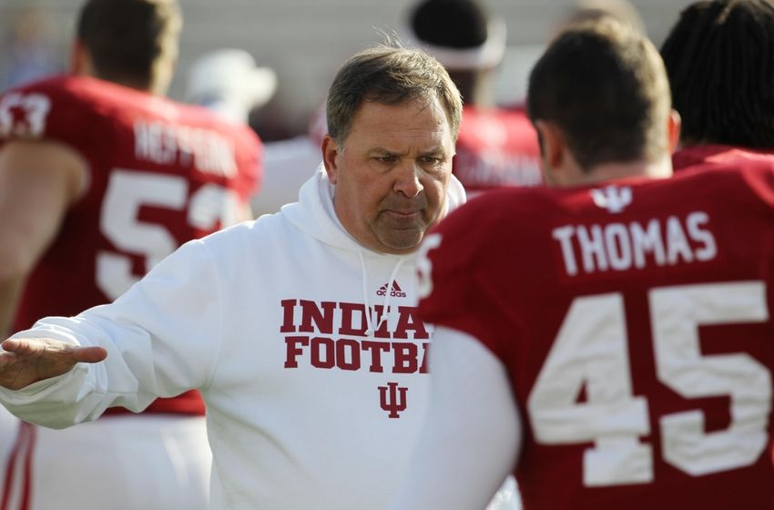 Tony Thomas (45) brings valuable depth and experience to the Hoosier defense. Image: inkonindy.com