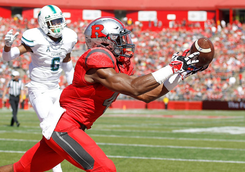 Leonte Carroo averaged 25 yards per catch against IU in 2014.  Image:NJ.com