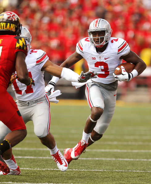 Michael Thomas is the first of two talented Buckeyes on our list. -(Jonathan Ernst/Getty Images North America)