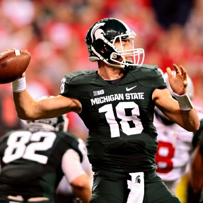 Senior quarterback connor cook hopes to lead the spartans to a big ten title in 2015 and an opportunity to represent the conference in the college football playoff.