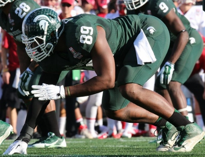 Former Big Ten Defensive Lineman of the Year Shilique Calhoun and the spartans defense will give opposing offensive coordinators Nightmares in 2015.