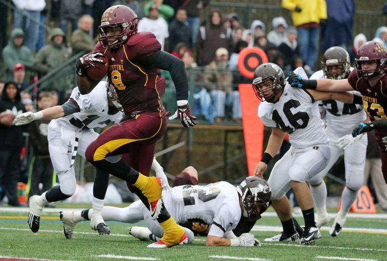 Nile Sykes was a standout at Montini Catholic High School in Oak Park, Ill.- Photo Credit:Chicago Tribune/AnthonySouffle