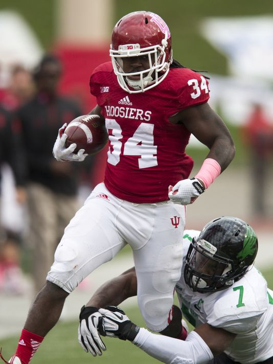 Devine Redding will be fighting for the starting running back job in fall camp. Image: IndyStar.com