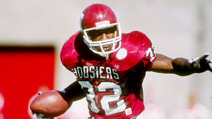 """Anthony Thompson was the greatest running back to don the block """"I"""" helmets."""