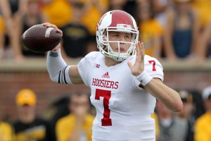 Nate Sudfeld is back at QB and there are no more excuses for the Hoosiers entering 2015.  Image: ESPN.com