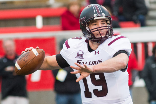 Southern Illinois quarterback Mark Iannotti will try to lead the Salukis to another victory in Bloomington. Image: TheSouthern.com