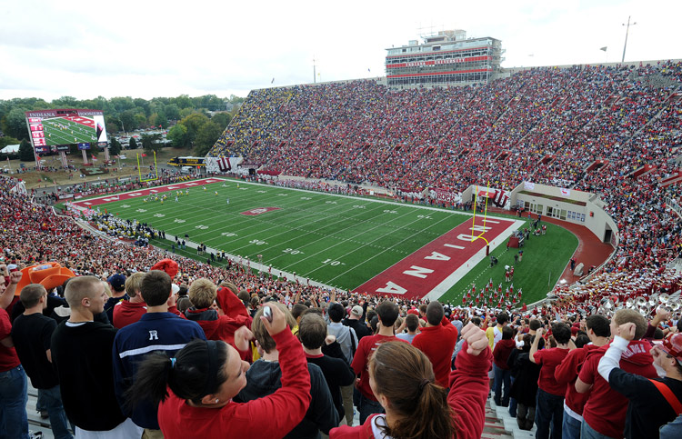 Fans will need to leave their homes early if you plan on traveling on SR37 tomorrow. Image:IUHoosiers.com