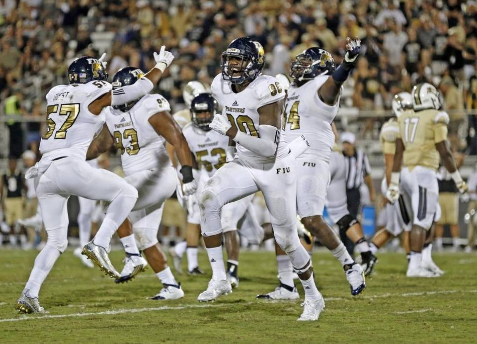 The FIU Golden Panthers were double-digit underdogs, but found a way to win at UCF. Image: Al Diaz, Miami Herald