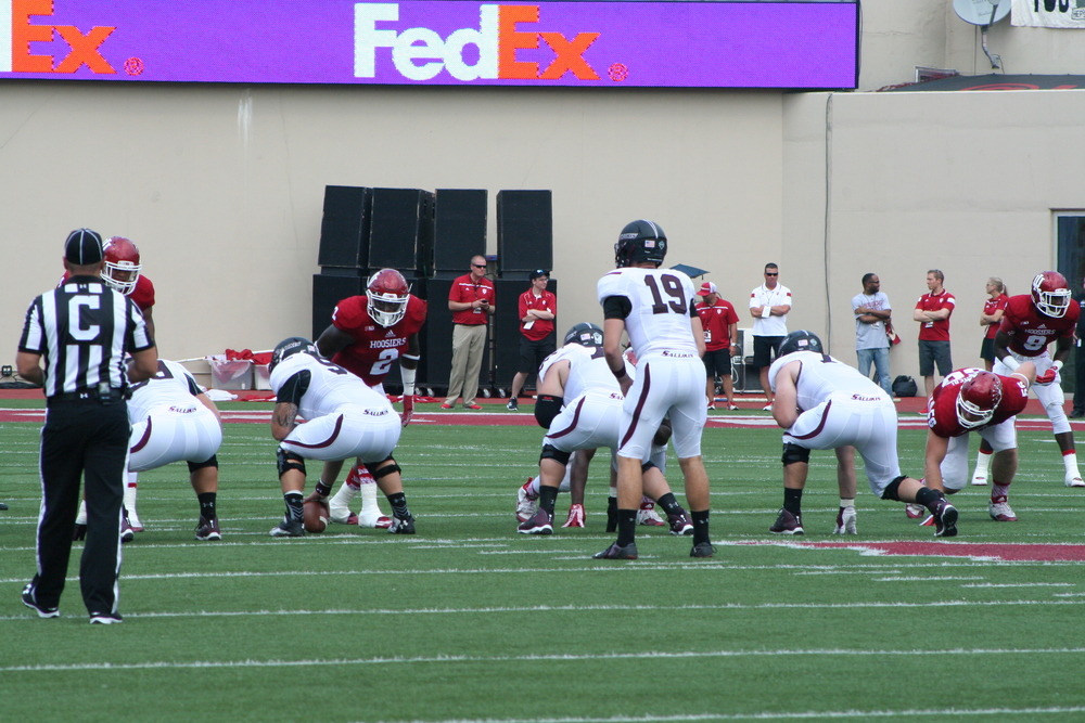 The Indiana defense was missing keys players at every level against SIU on Saturday, but how much of a role did that play in their performance?  P hoto Credit - Cam Koenig HoosierHuddle.com