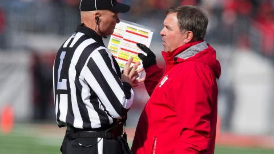 Wilson and IU receive an apology from the official who swore over the PA system last week.  Image: Indystar.com
